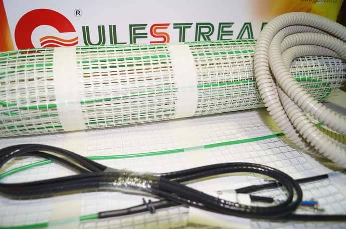 Состав комплекта теплого пола Gulfstream (маты)