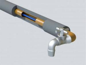 Саморегулирующийся кабель внутрь трубы
