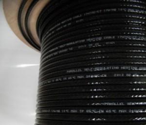 Бухта Саморегулирующего кабеля внутрь трубы